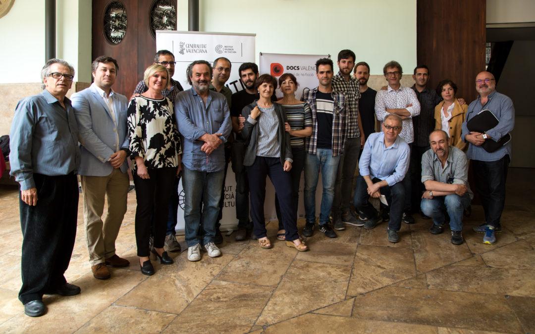 DocsValència acoge la primera «Roda de Guions» de EDAV e IVC dedicada en exclusiva a proyectos documentales