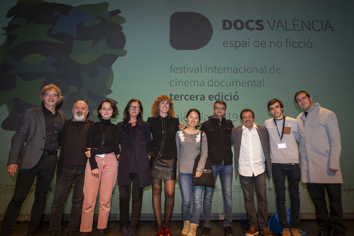Gala clausura Docs Valencia 98